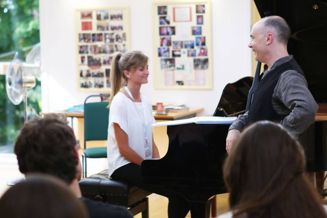 Piano mastclass with Andrew Zolinsky - The Ingenium Academy 2015