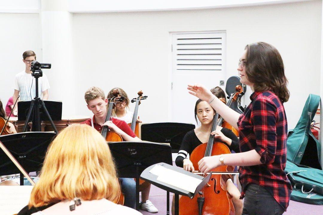 Conducting at the Ingenium Academy
