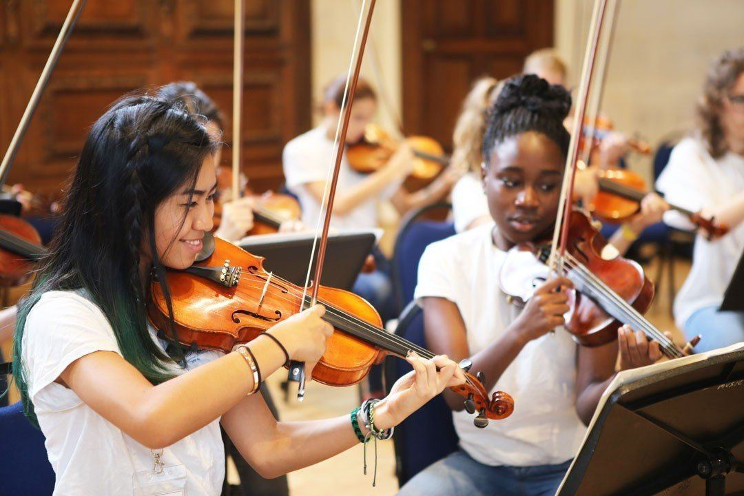 Young Orchestral Musicians at the Ingenium Academy International Summer School for Music