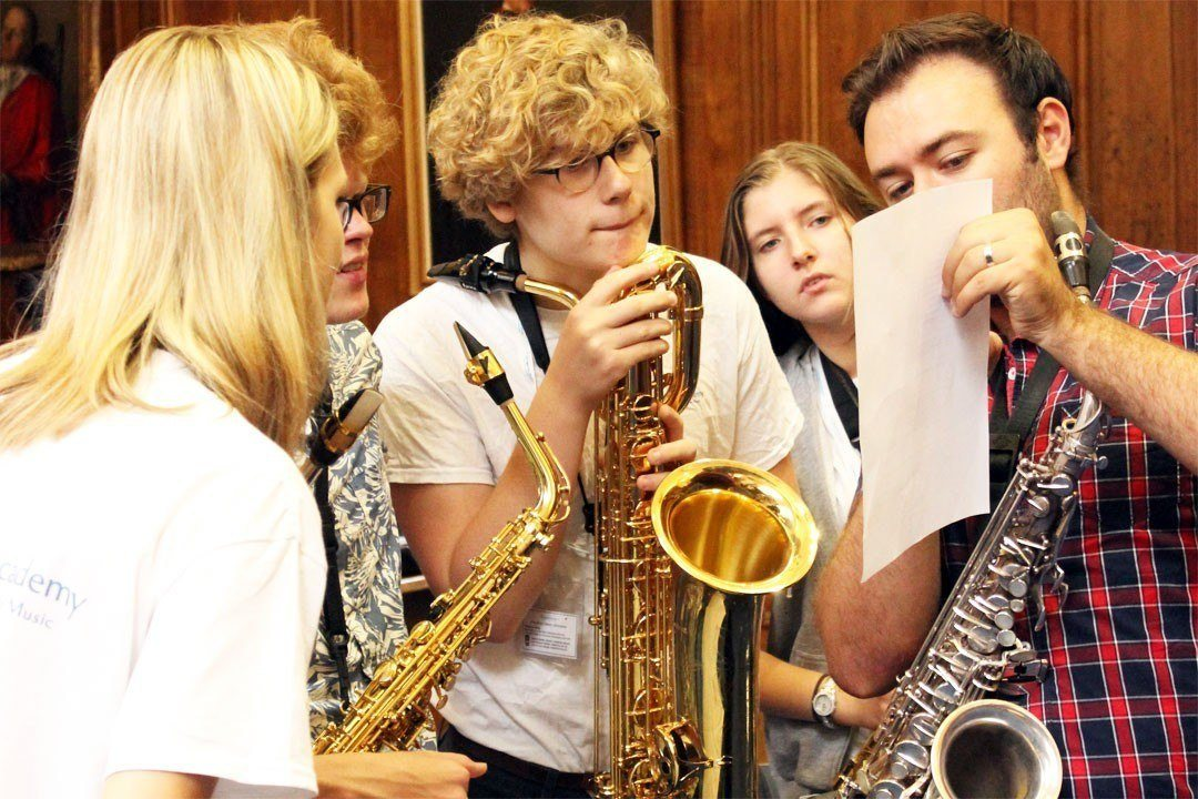 Ensemble workshop on the Saxophone Programme