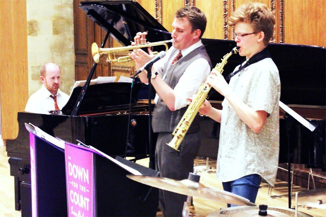 Performance opportunity with visiting jazz band Down For The Count