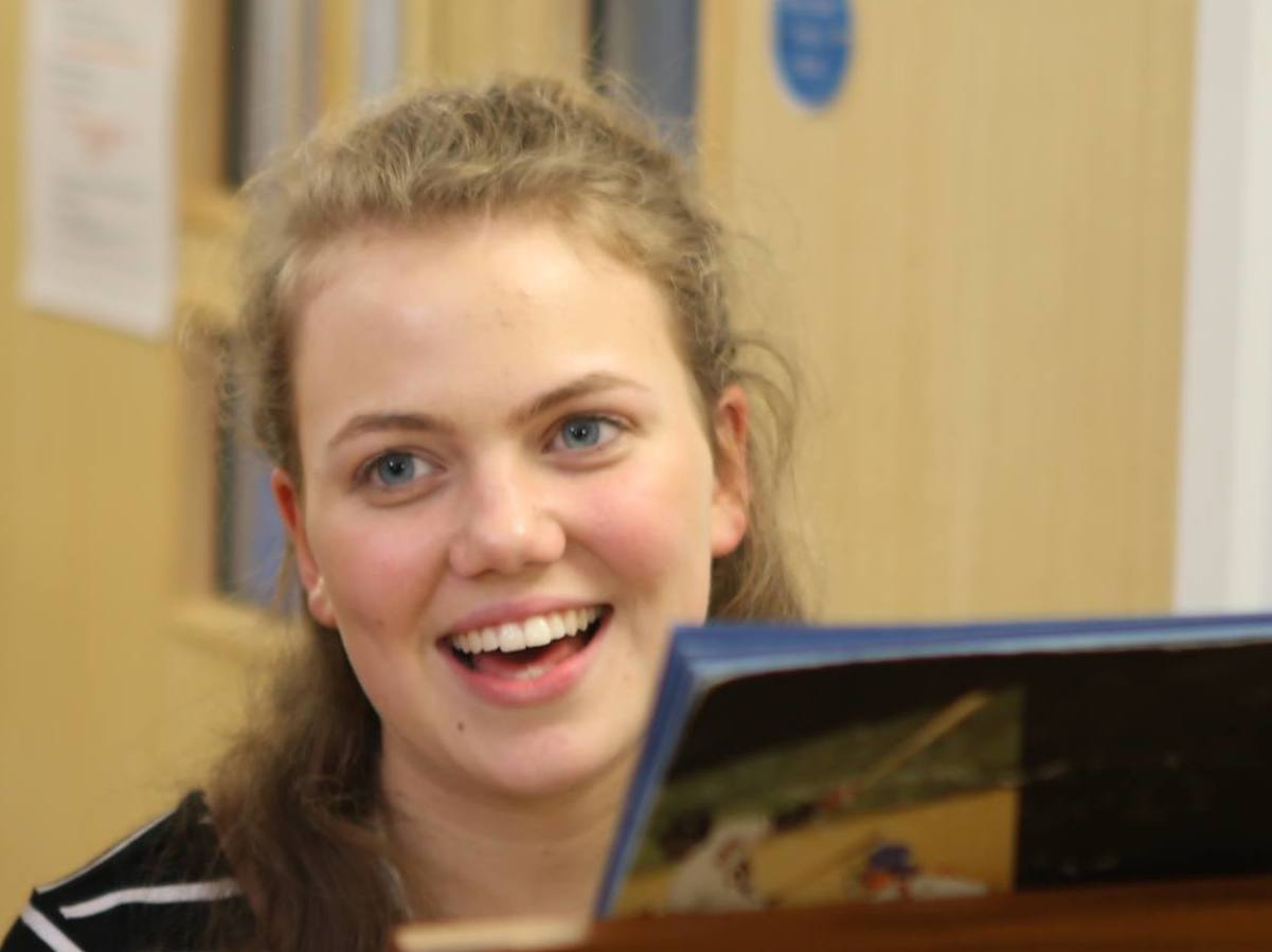 Anna, vocal student, Ingenium summer school for music