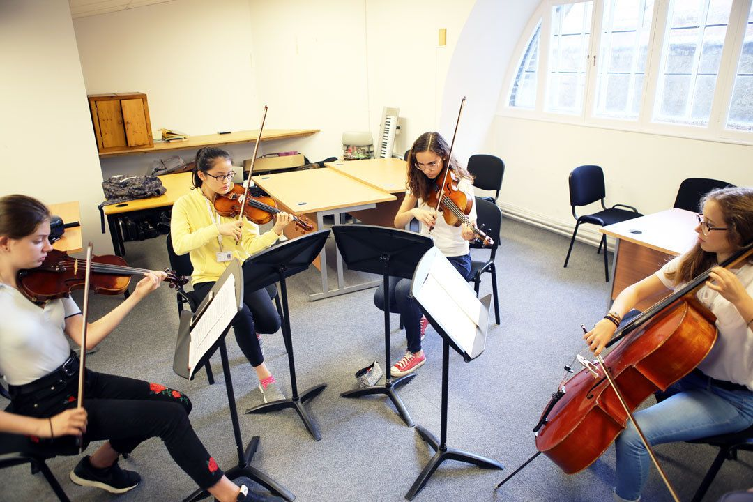 String quartet summer course