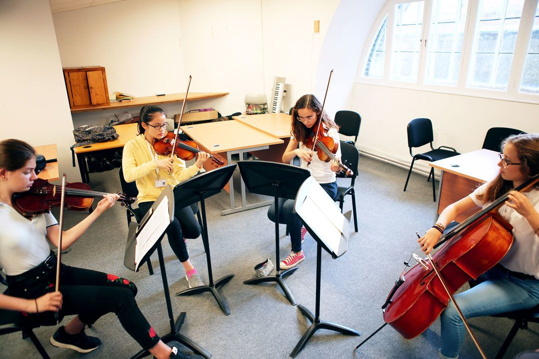 String Quartet course at the Ingenium Academy England