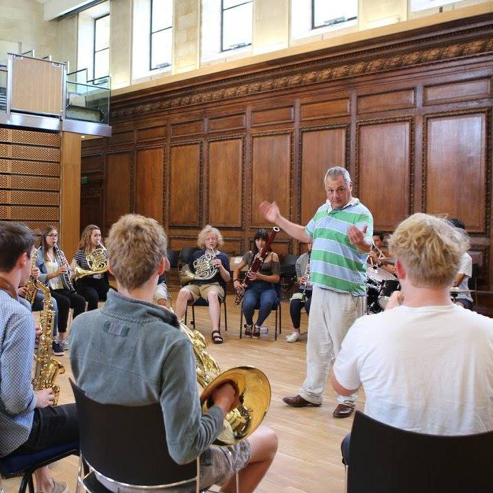 Improvisation workshop with Pete Long