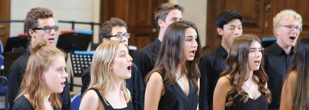 The Ingenium Academy Choir performing in Winchester
