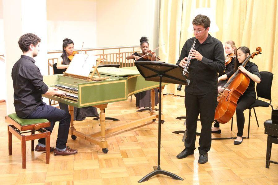 Oboe, string quartet and harpsichord at Ingenium concert
