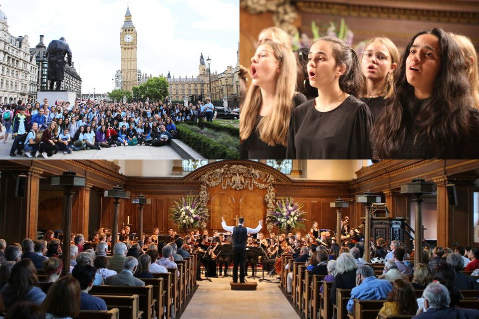 Our concert in London at St James's Piccadilly