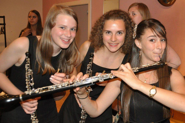 Oboe players at Ingenium