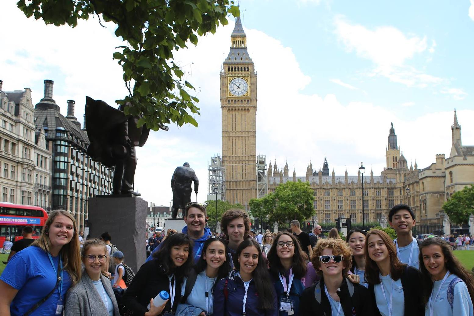 Day trip to London with summer music students