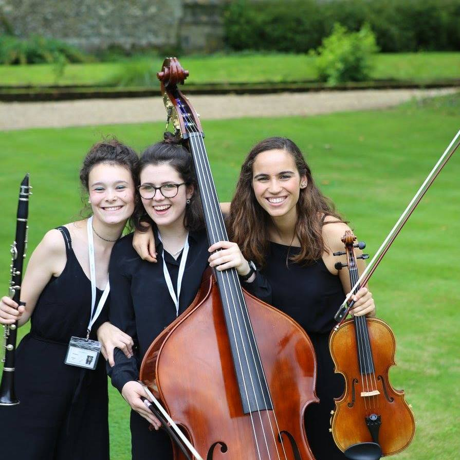 International students of the Ingenium Academy Orchestra