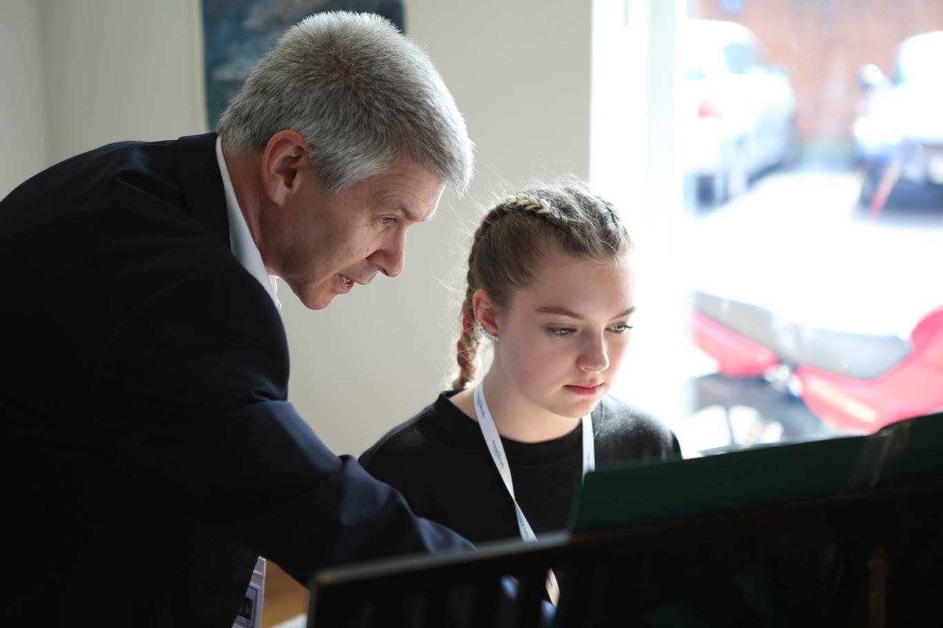 Piano lessons with Richard Sisson