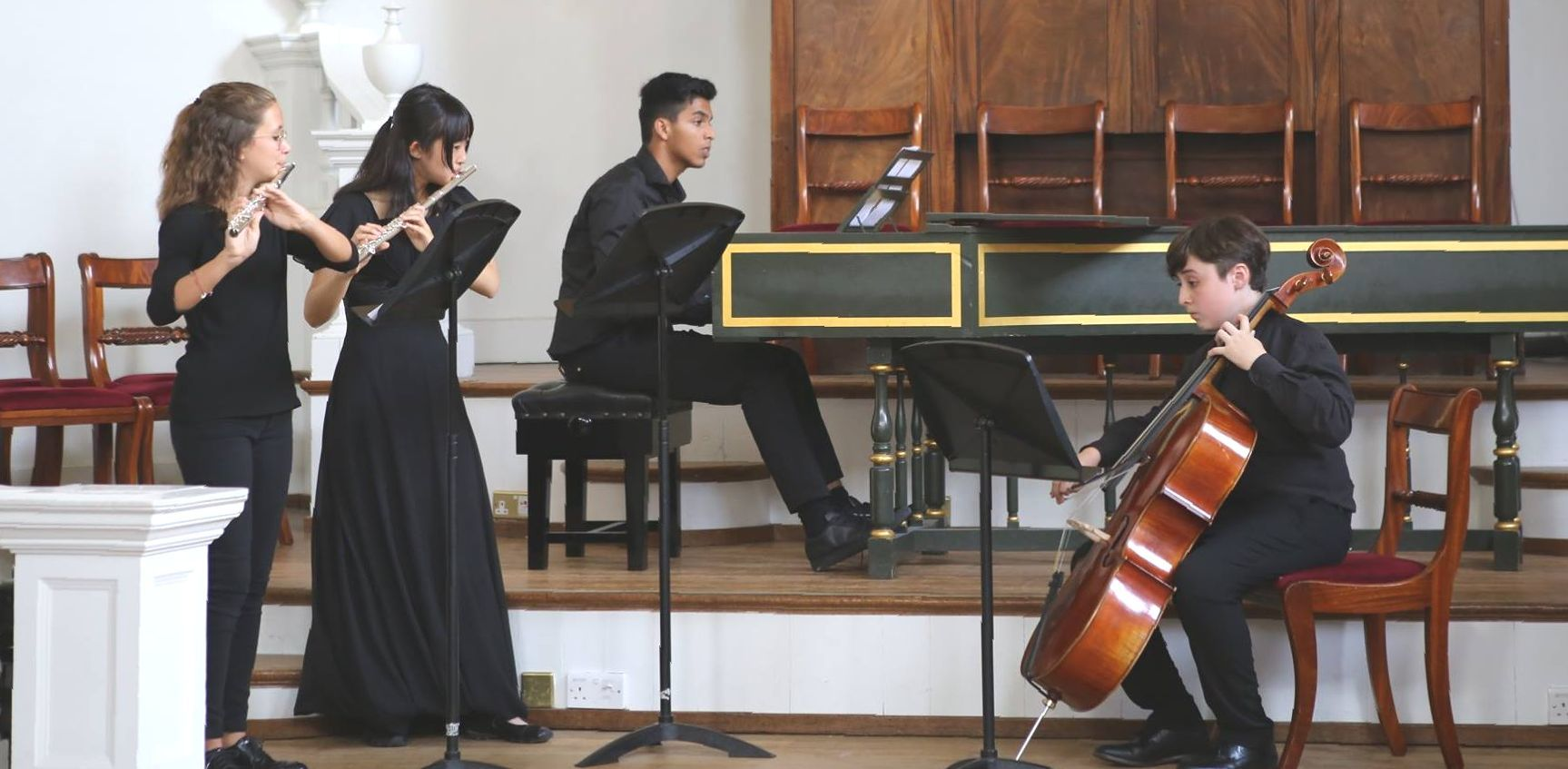 Performance at Chamber Music summer course