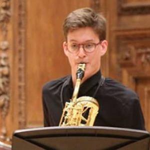 Pierre-Jean, saxophone student, France