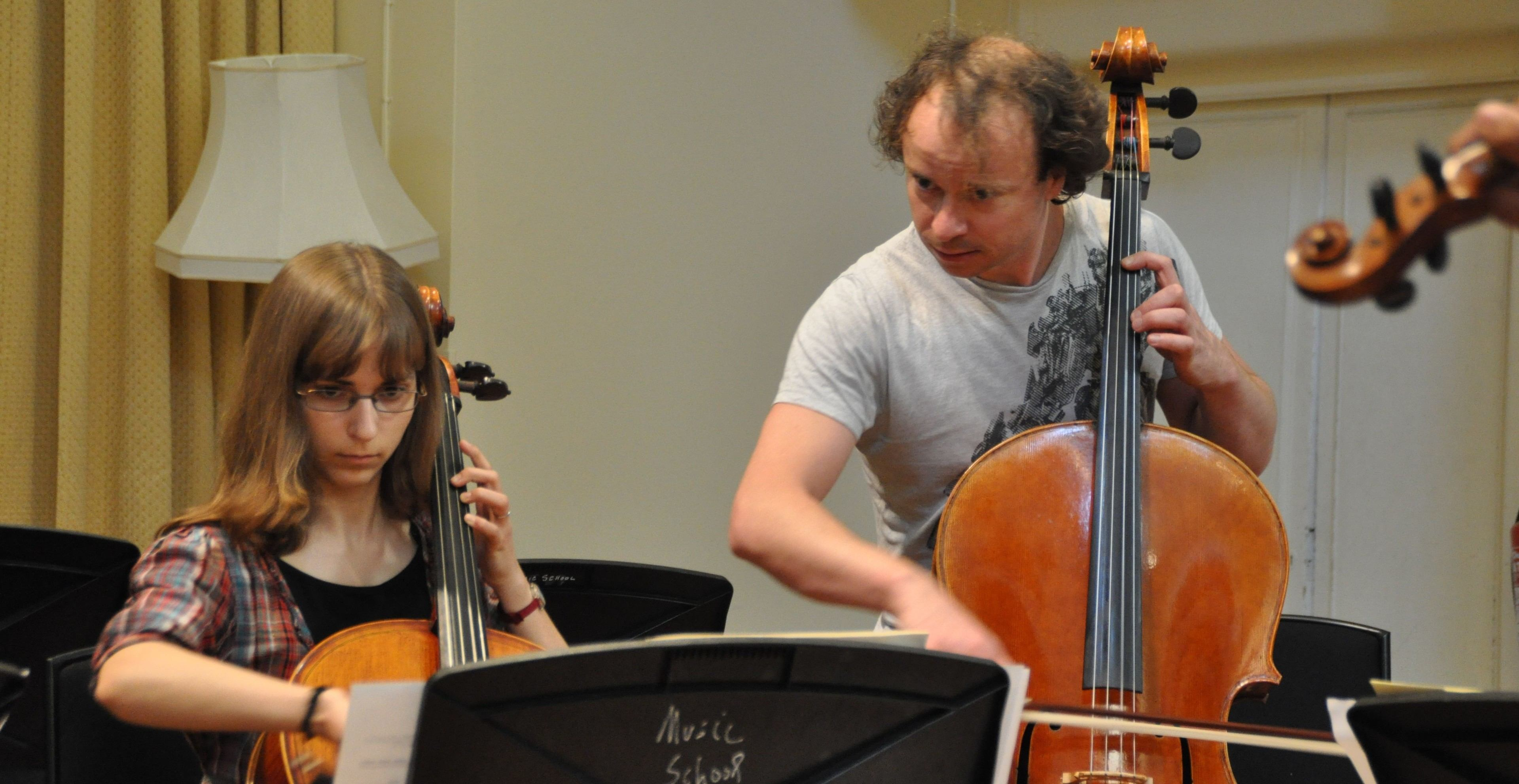 Cello tuition at The Ingenium Academy Music Summer Course
