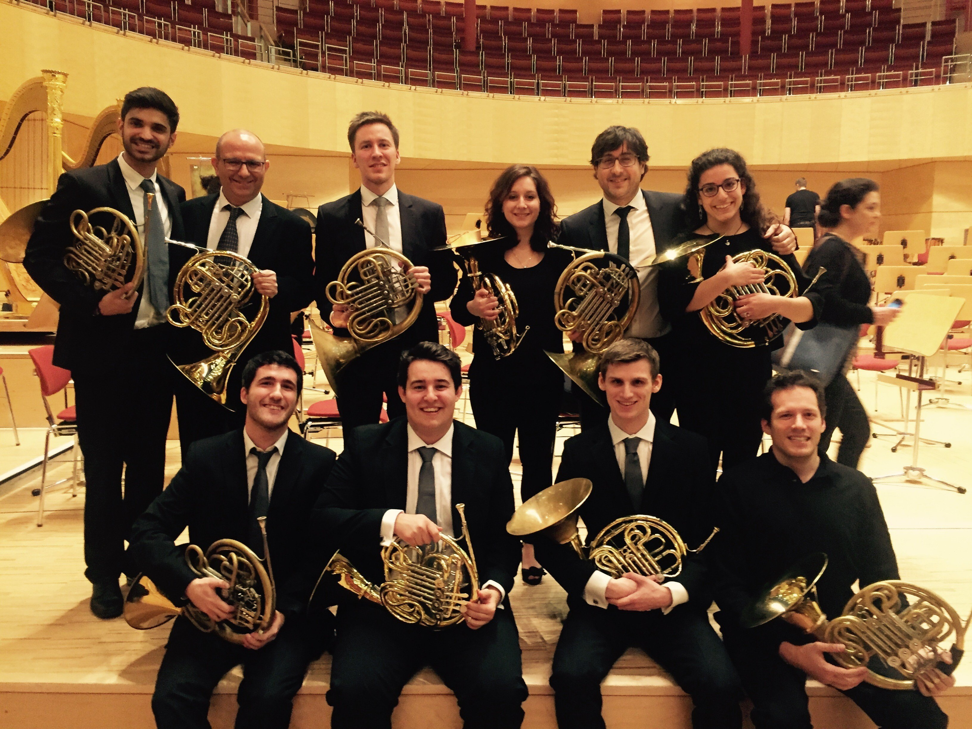 Ingenium Alumnus Matt Head with the Mahler Chamber Orchestra Academy