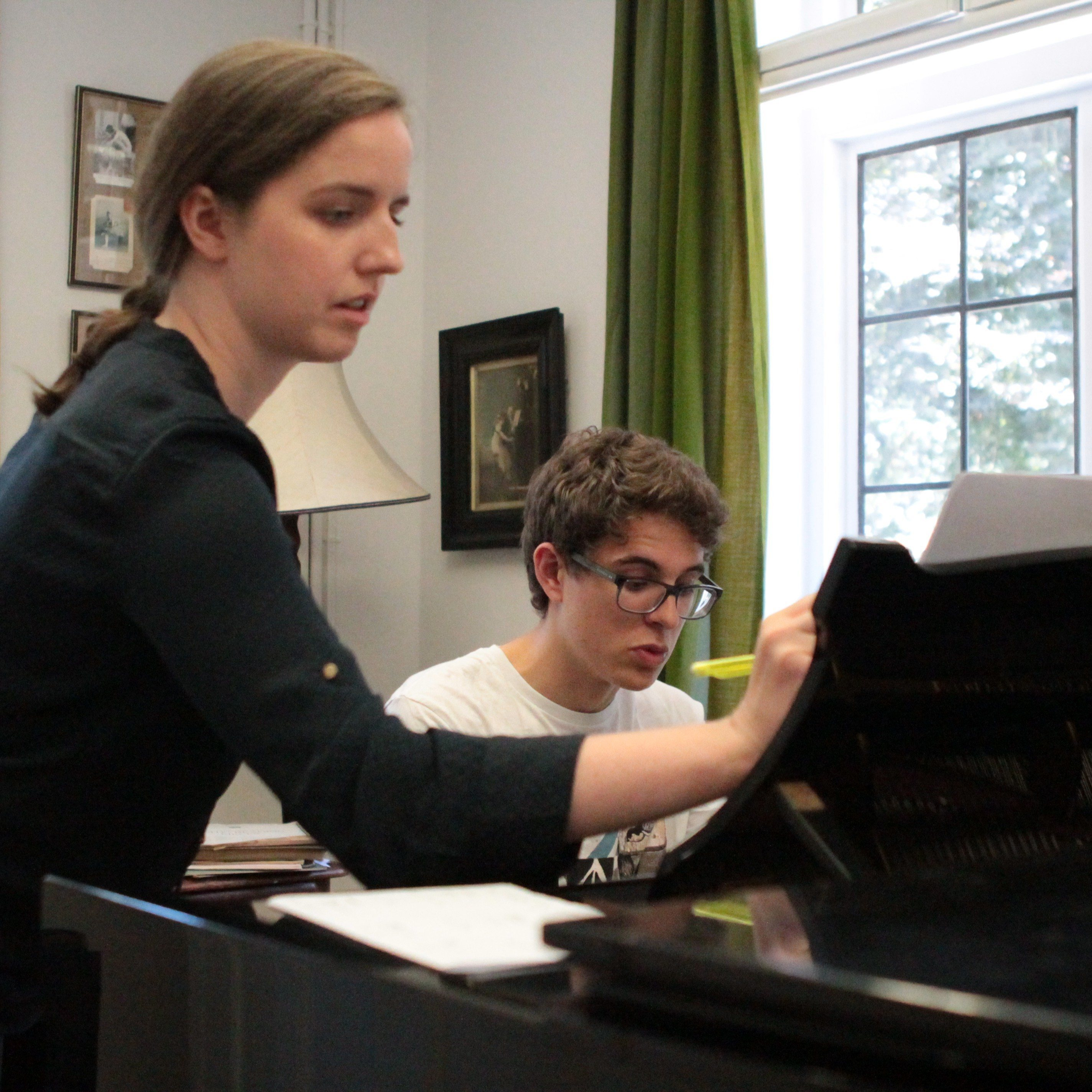Cliodna Shanahan, piano tutor for Ingenium Academy Music Summer School