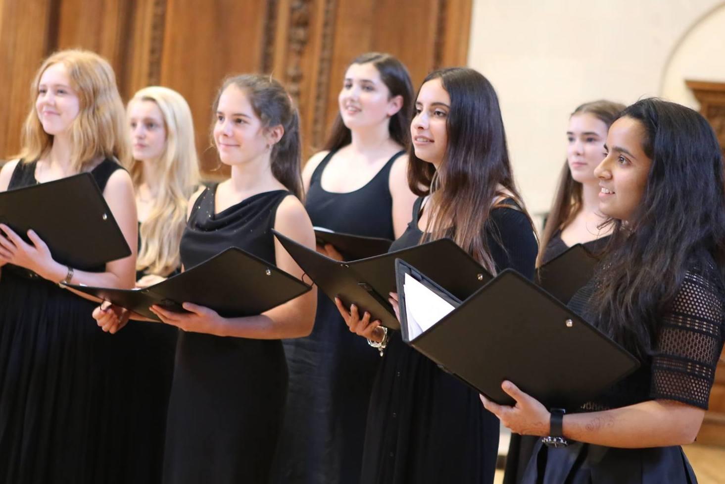 Ingenium Academy choir in concert