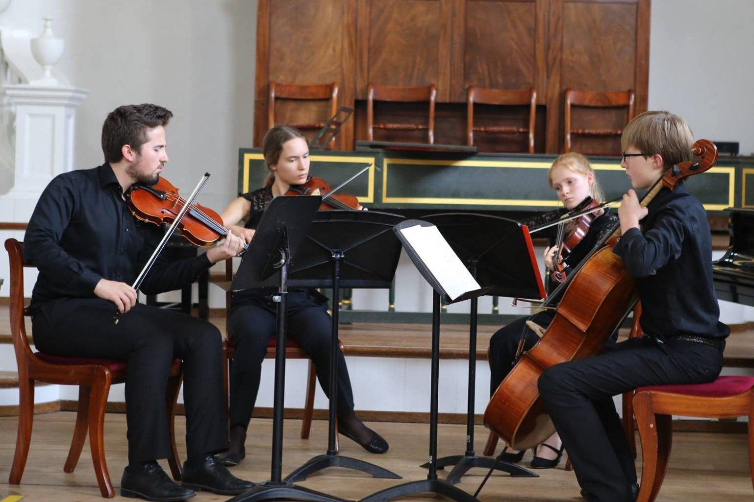 Chamber Music concert at the Ingenium Academy Music Summer Course