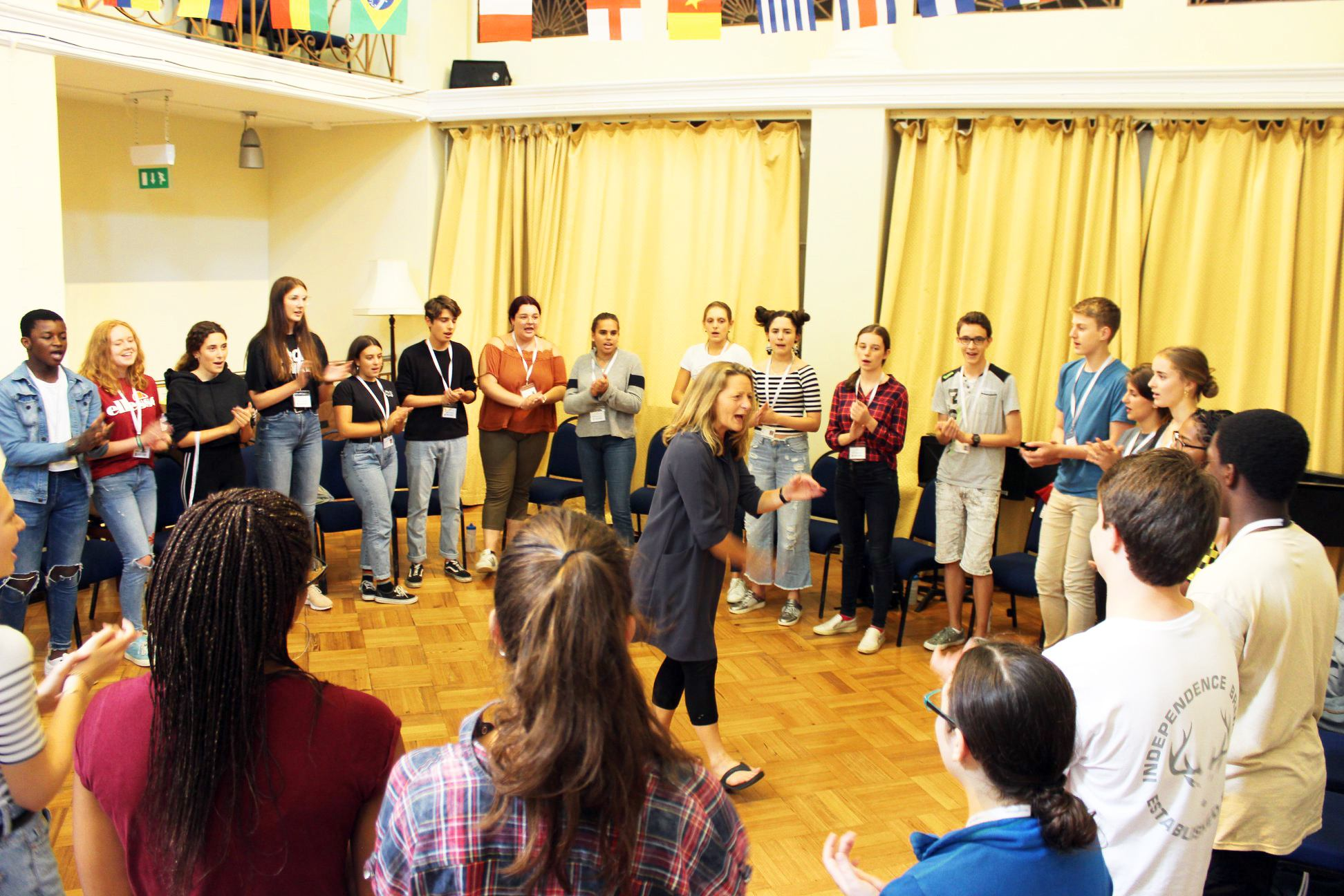 Vocal health masterclass with Sophie Grimmer