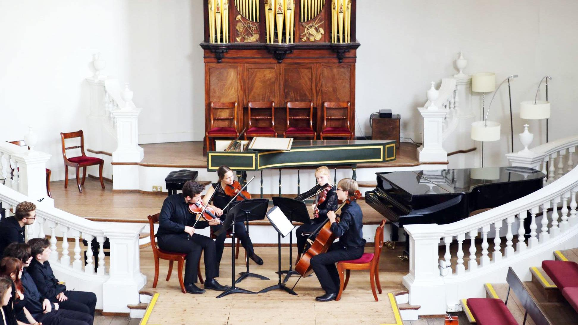 Ingenium Academy Chamber Music concert at the Holywell Music Room, Oxford