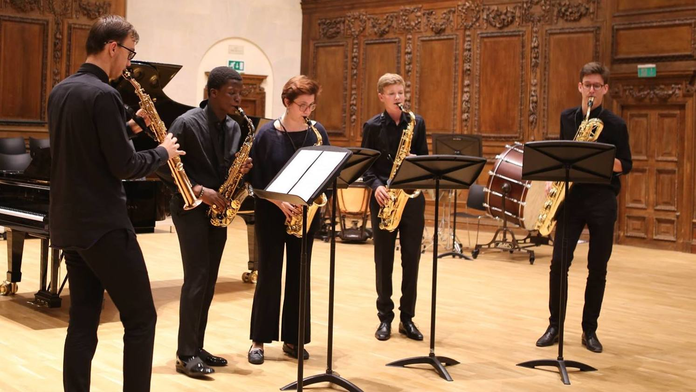 Concert from our Summer School Saxophone quartet