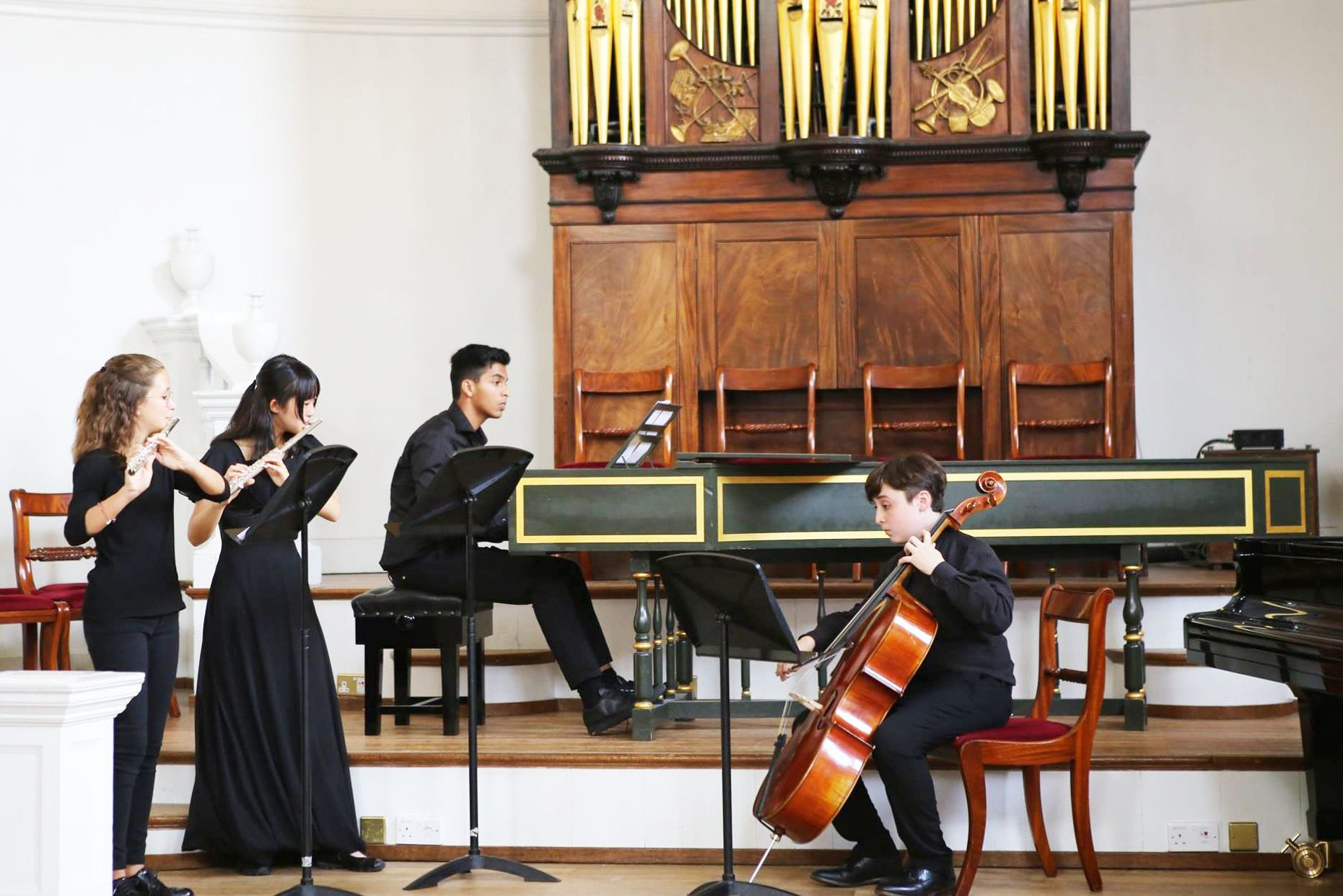 Ingenium Chamber Music concert at the Holywell Music Room, Oxford