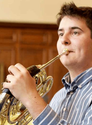 Ingenium Academy French Horn student Matt Head at Ingenium 2012