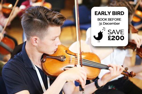 Earlybird Discount for Summer Music Programmes
