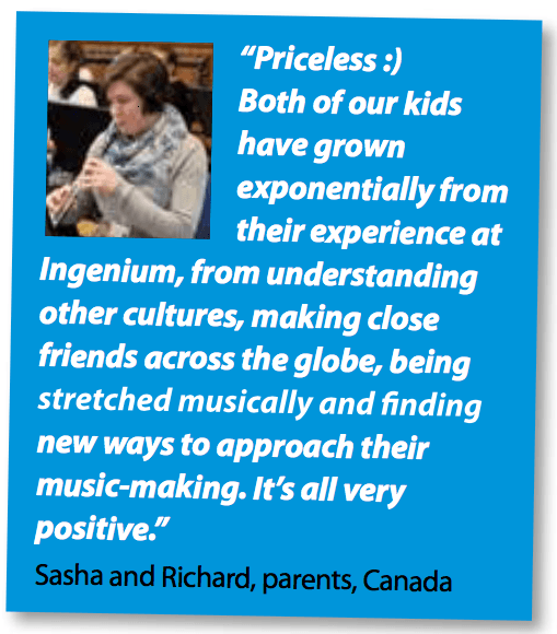 international summer music school testimonial