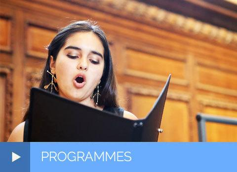See our summer programmes: orchestra, voice, piano, saxophone, composition, conducting, chamber music