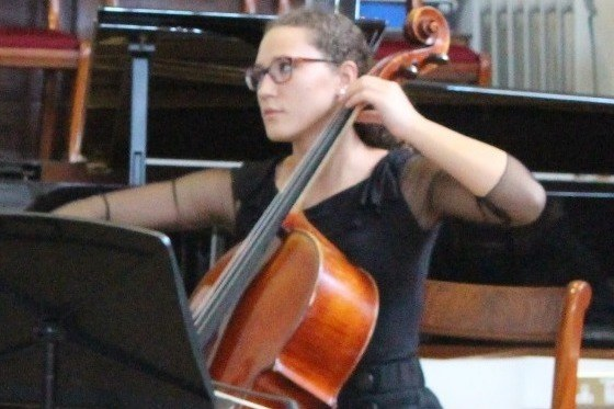 Arina, Chamber music programme, cello student