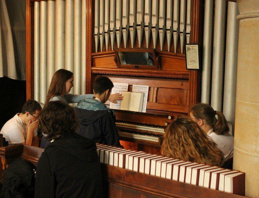 Organ rehearsal Ingenium Academy summer school