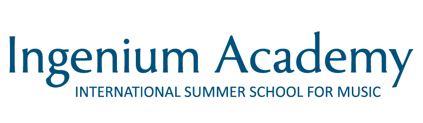 The Ingenium Academy International Summer School for Music - Logo