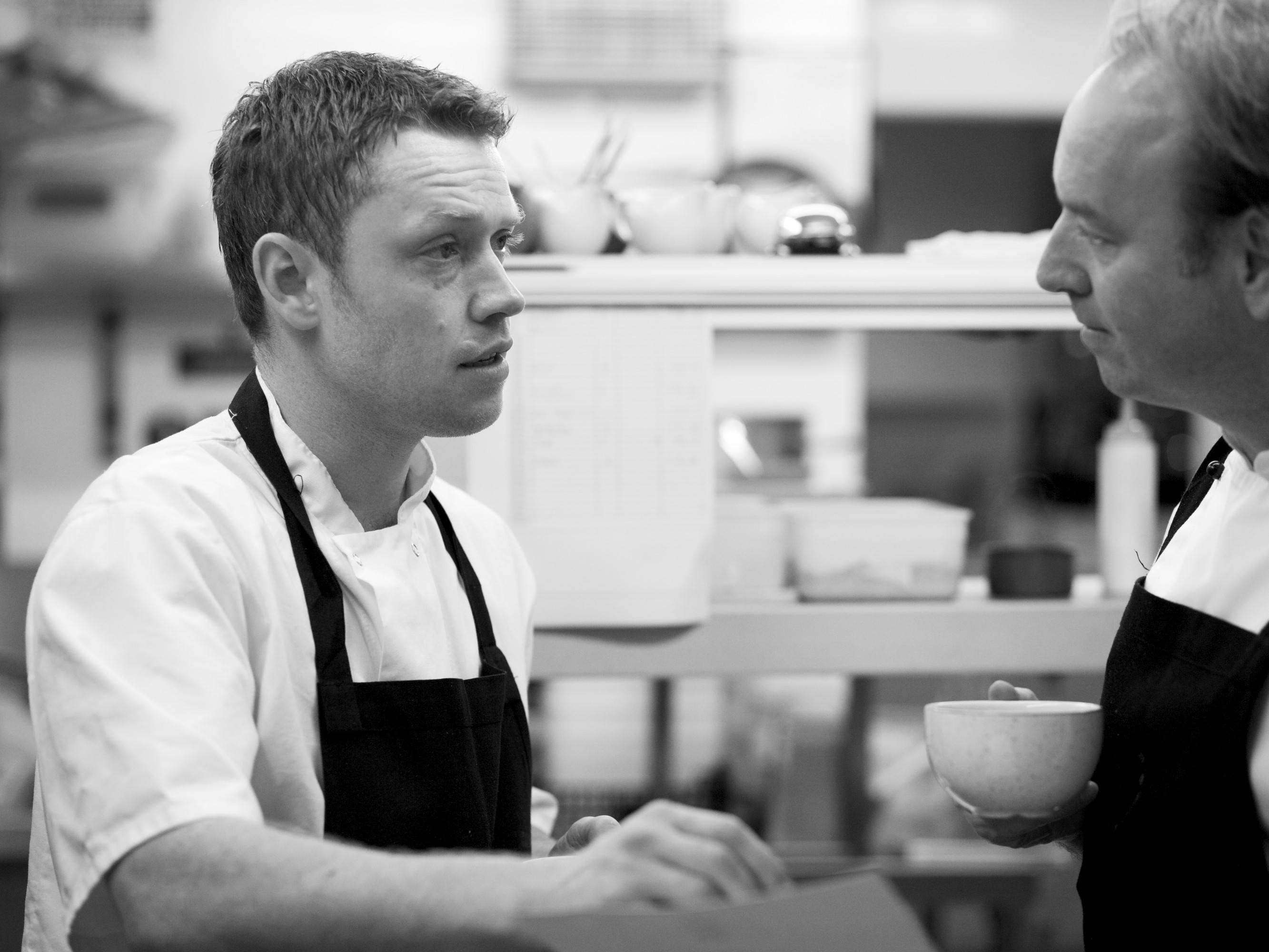 Chef Danny Durose at The Royal Oak Swallowcliffe
