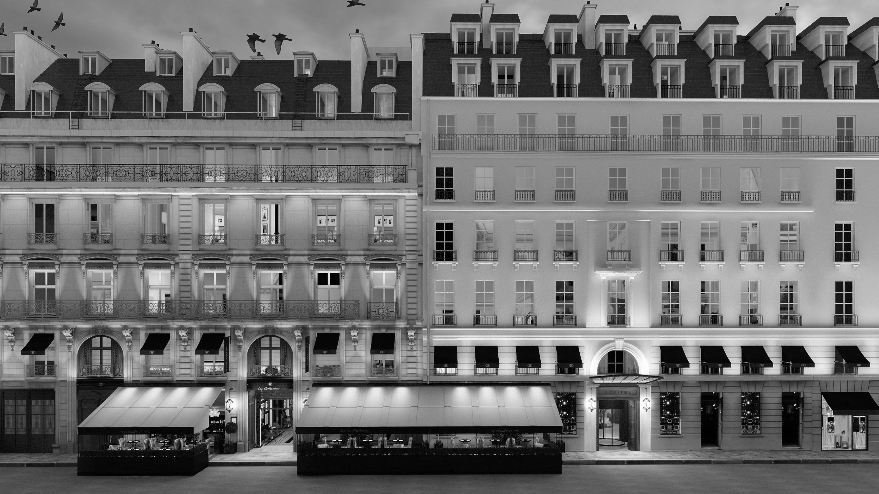 Sofitel Le Faubourg Paris b&W.jpg