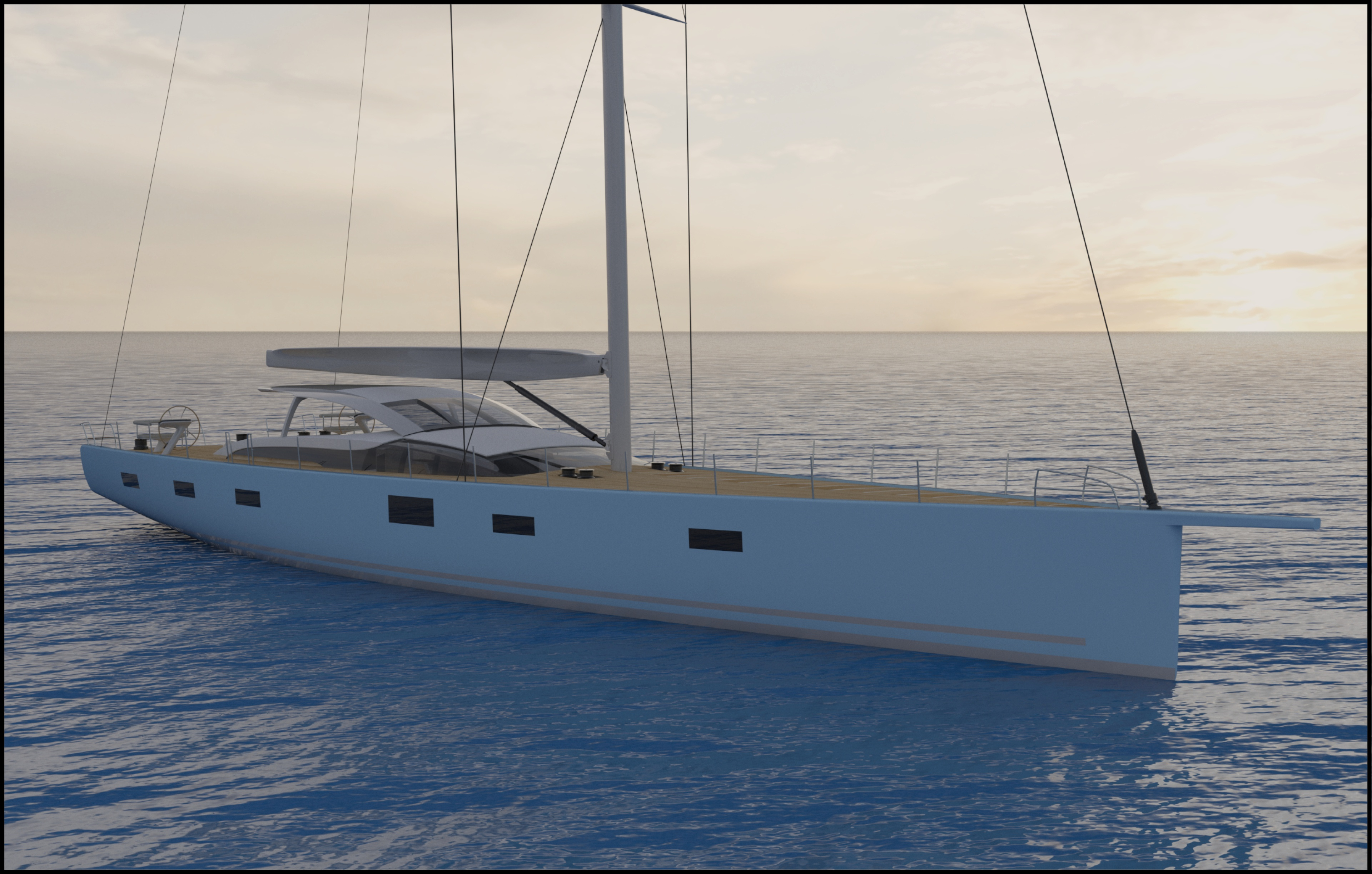 mm341 - commences build at baltic yachts