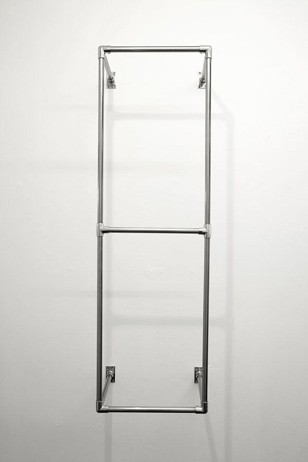 Simona Brinkmann. Untitled (2014) Mild steel, stainless steel.