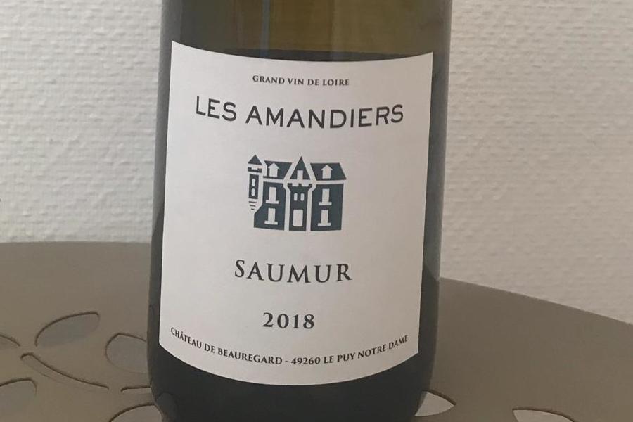 'Les Amandiers', Saumur blanc 2018 image