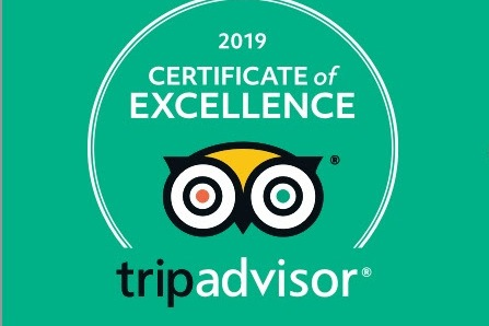 Certificate of Excellence 2019 - TripAdvisor image