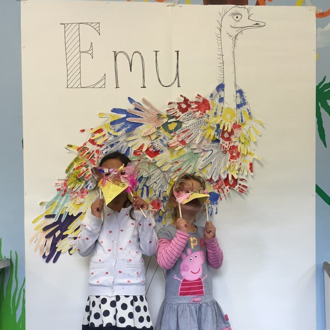 emu day, art and nature at battersea park children's zoo