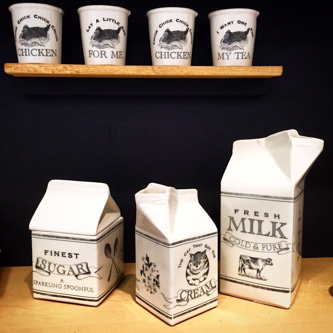 hand made ceramics dairy range katie brinsley beatrice von Preussen