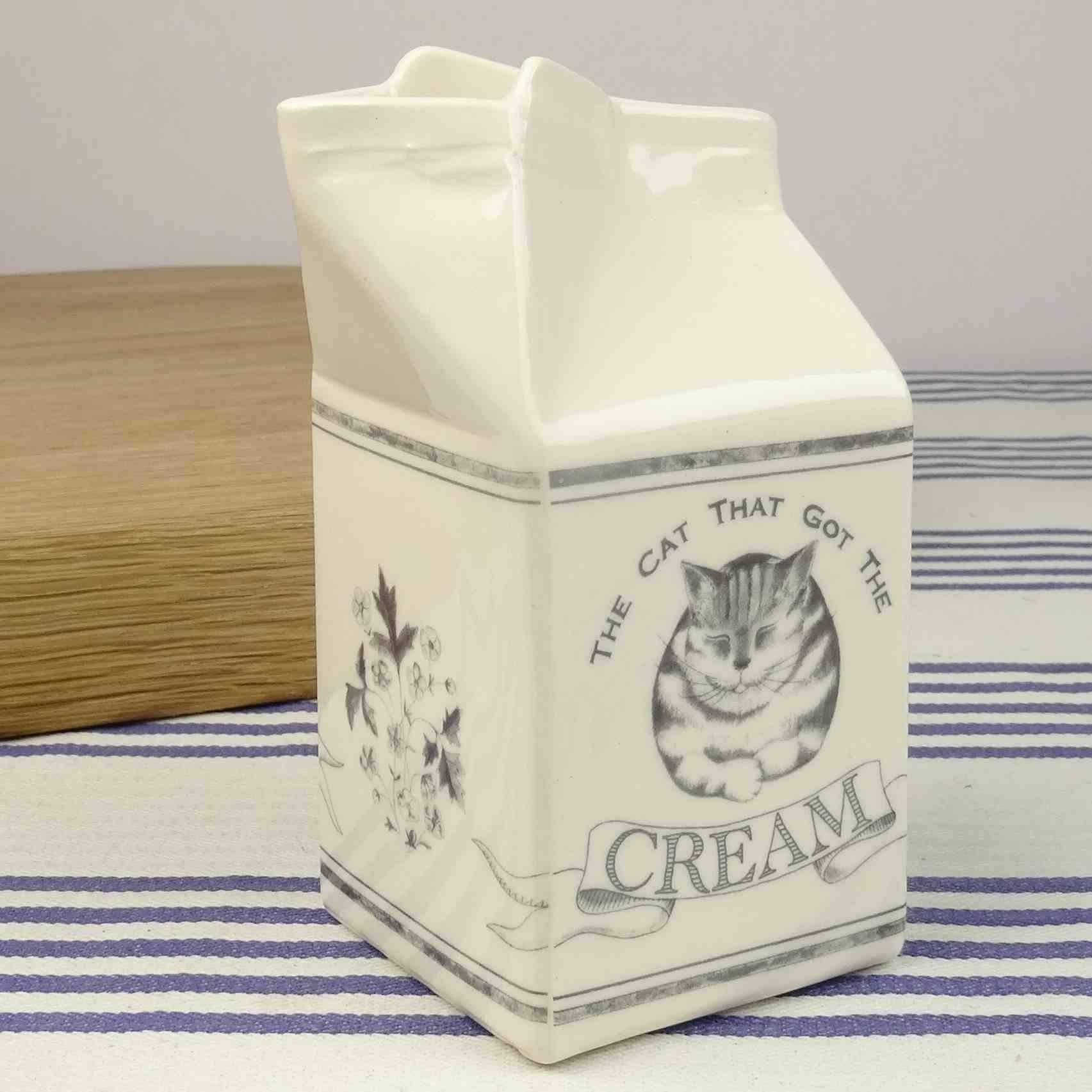 cream jug hand made ceramics dairy range katie brinsley beatrice von Preussen