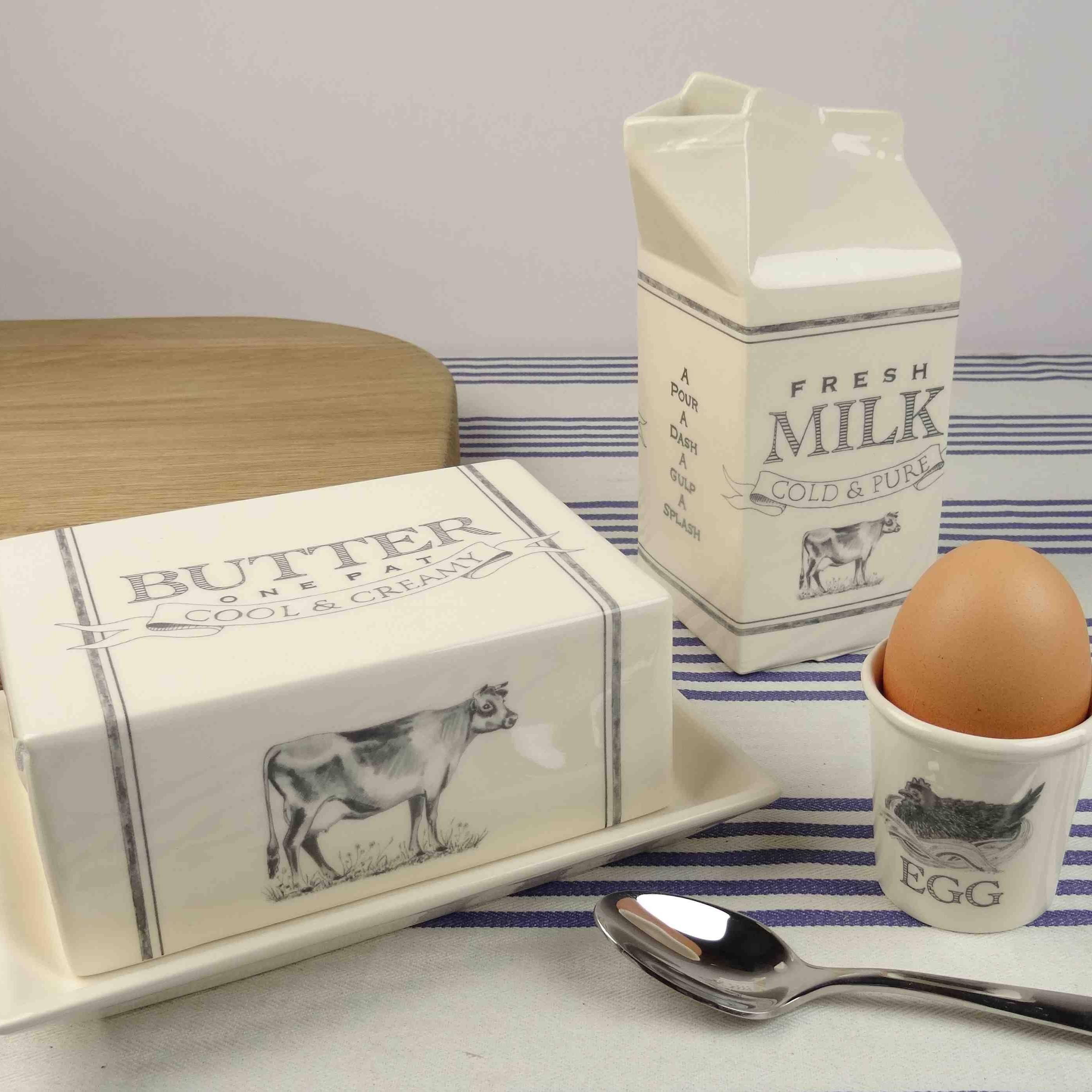 egg cup hand made ceramics dairy range katie brinsley beatrice von Preussen