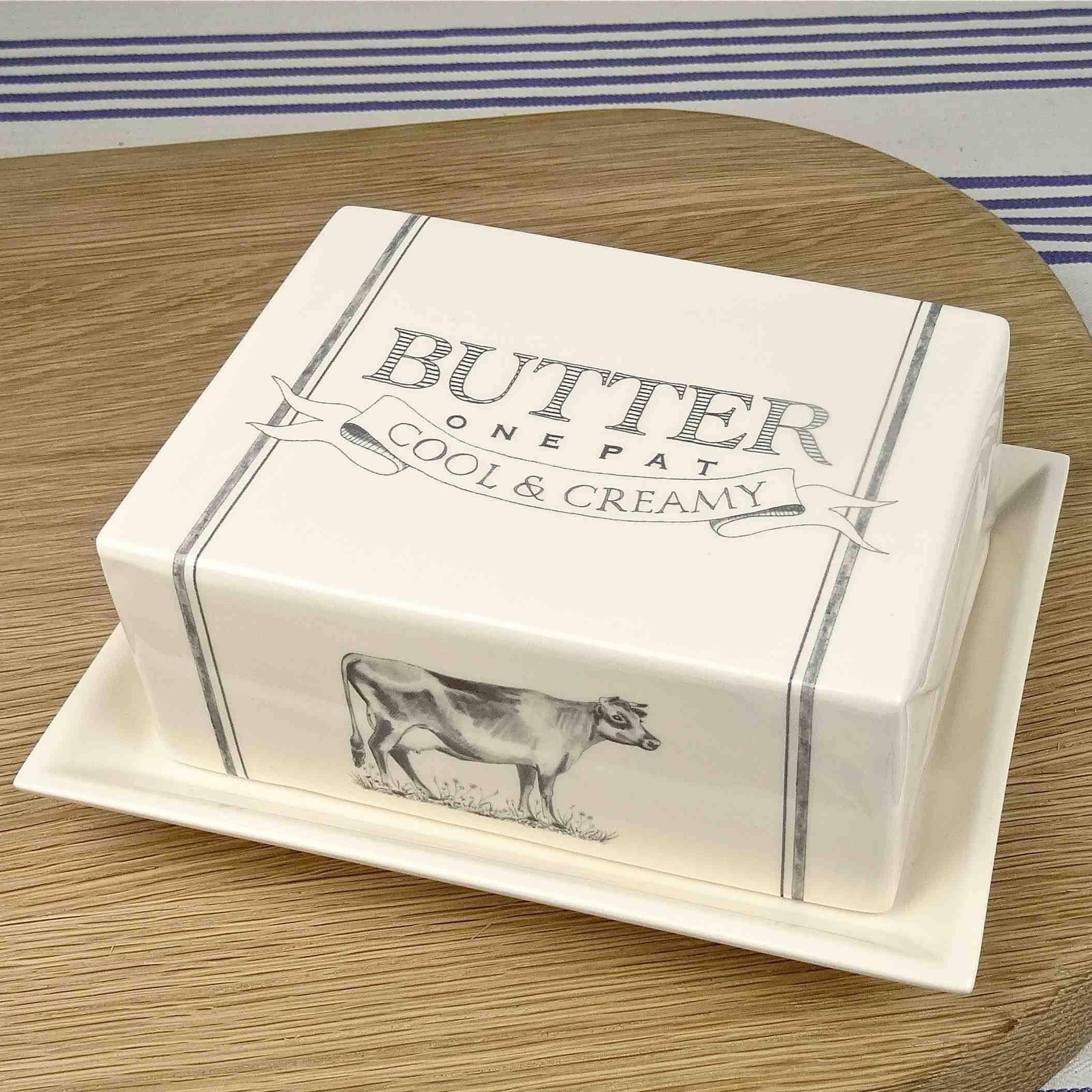 butter dish hand made ceramics dairy range katie brinsley beatrice von Preussen