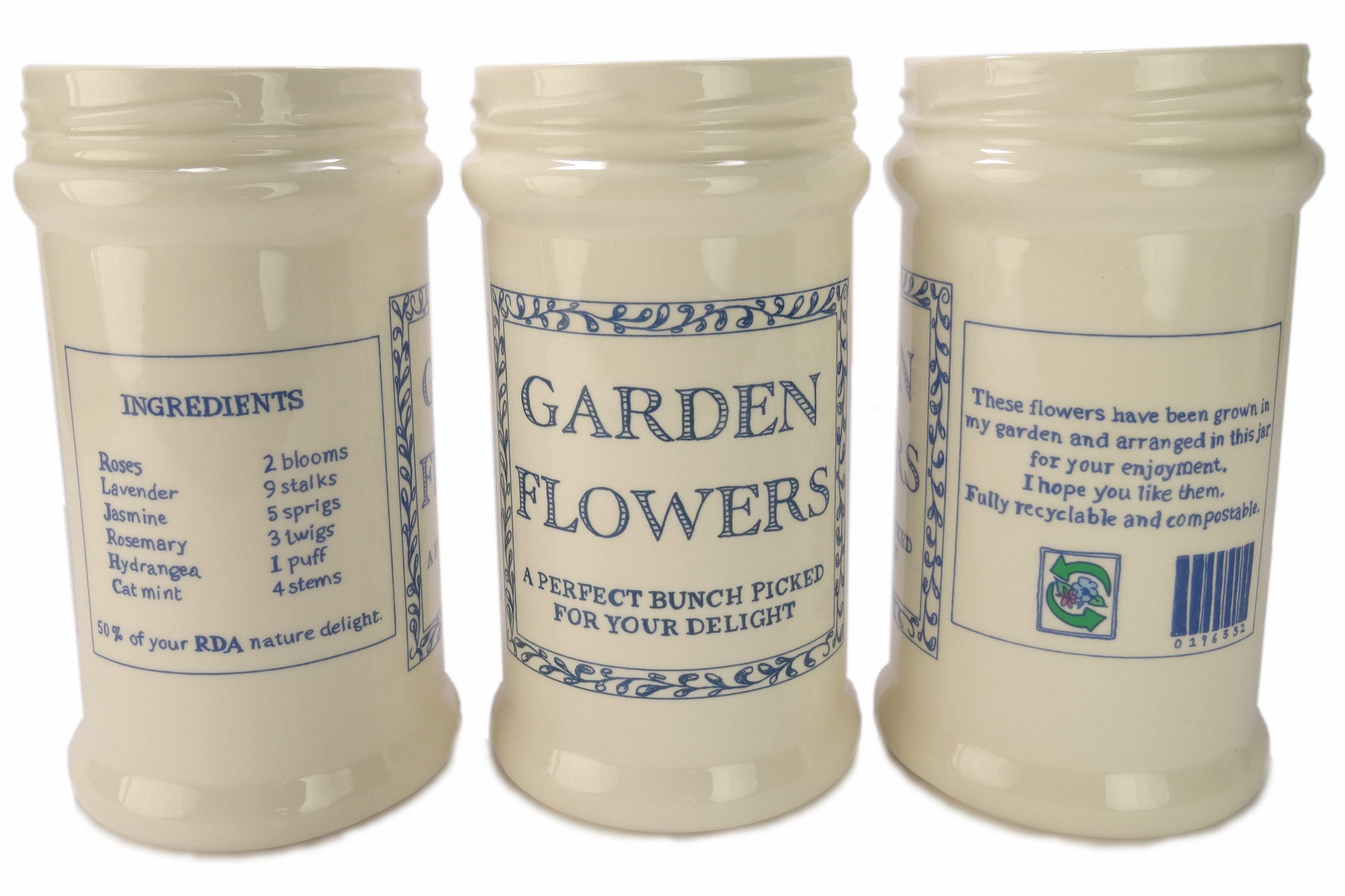 garden flowers vase  hand made ceramics katie brinsley beatrice von Preussen
