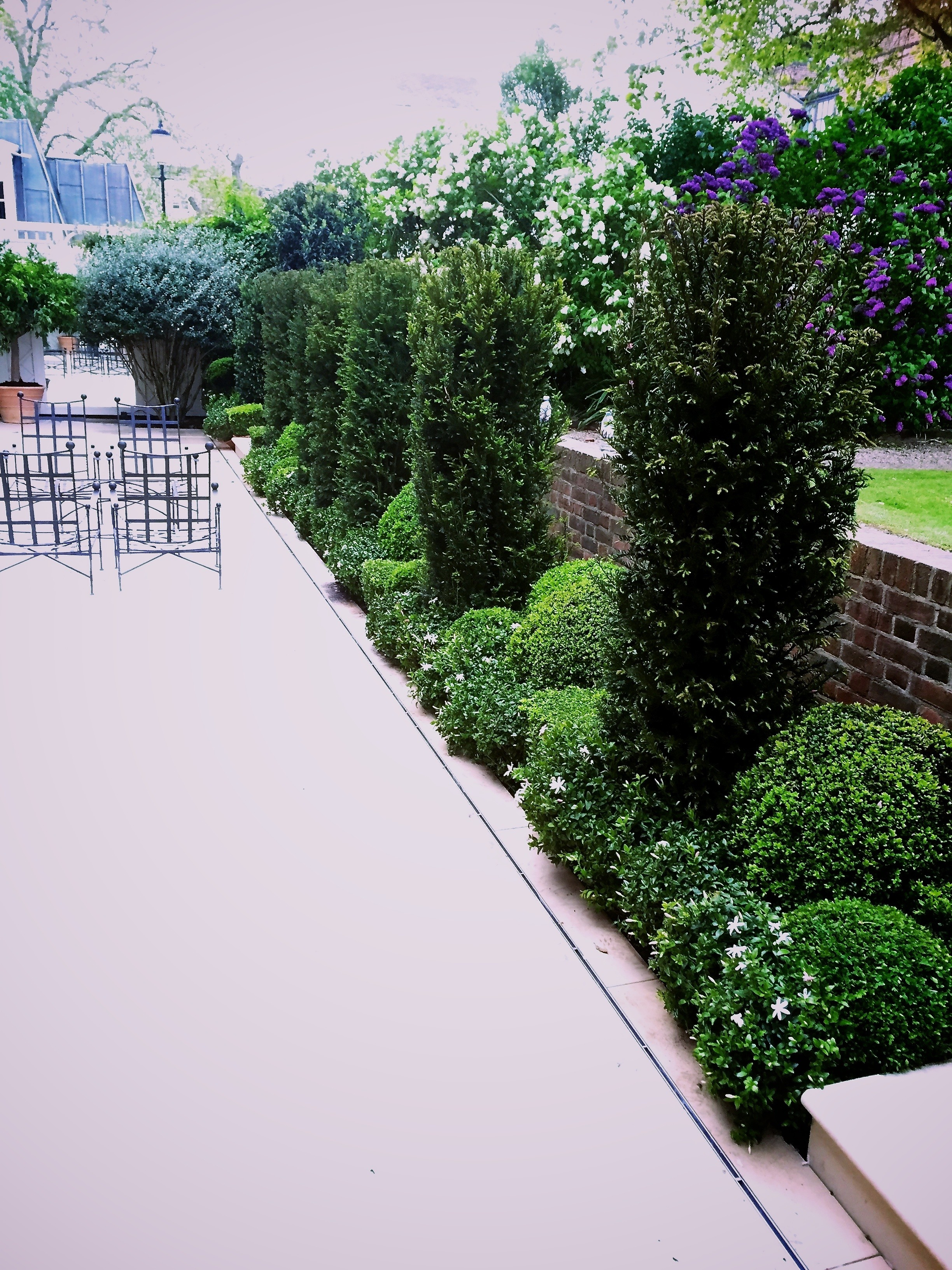 Chelsea Garden with Portland Stone