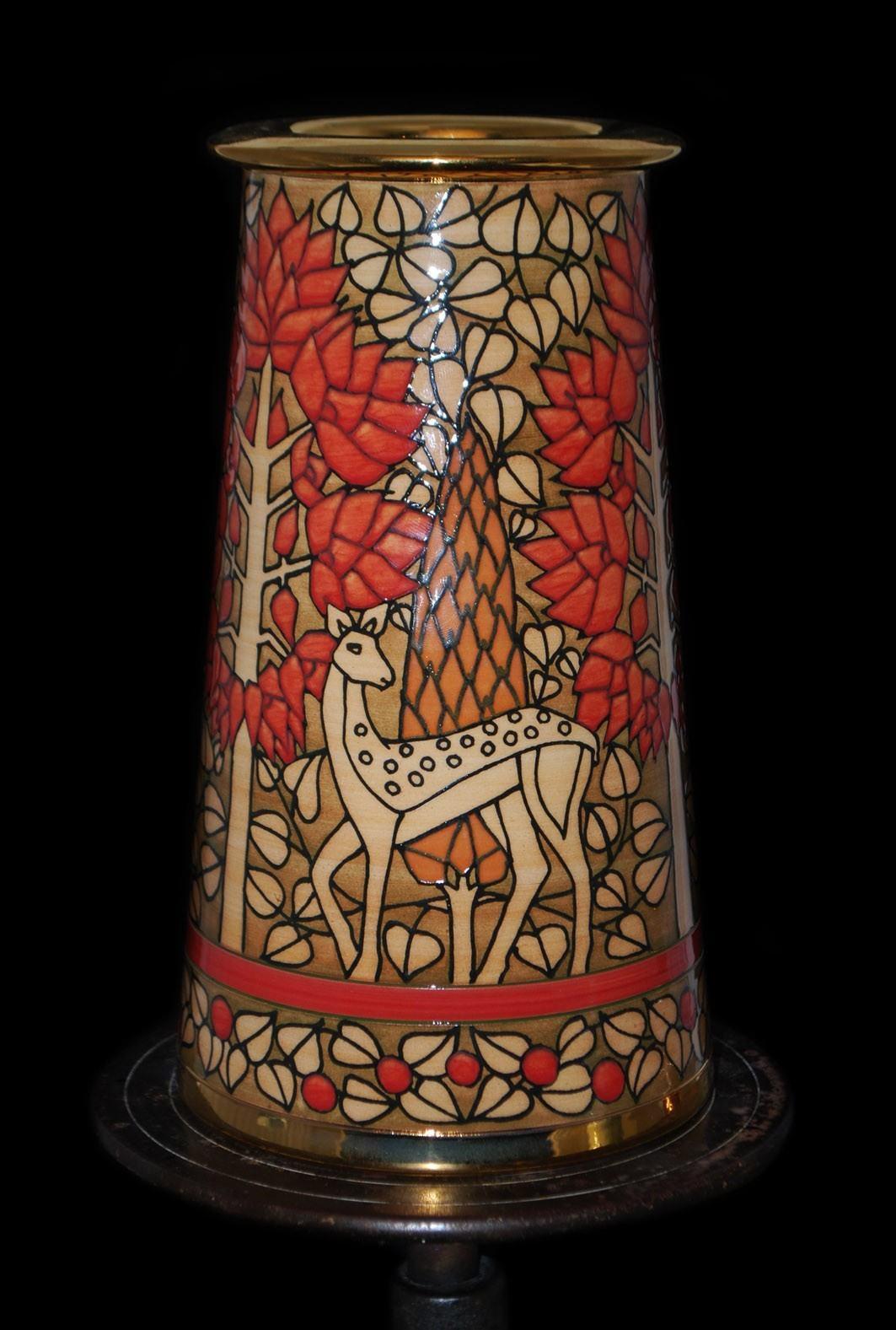 Red Deer Vase