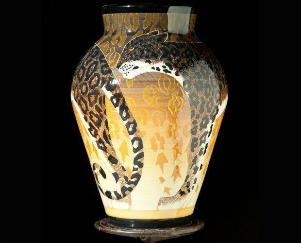 Ocelot Vase