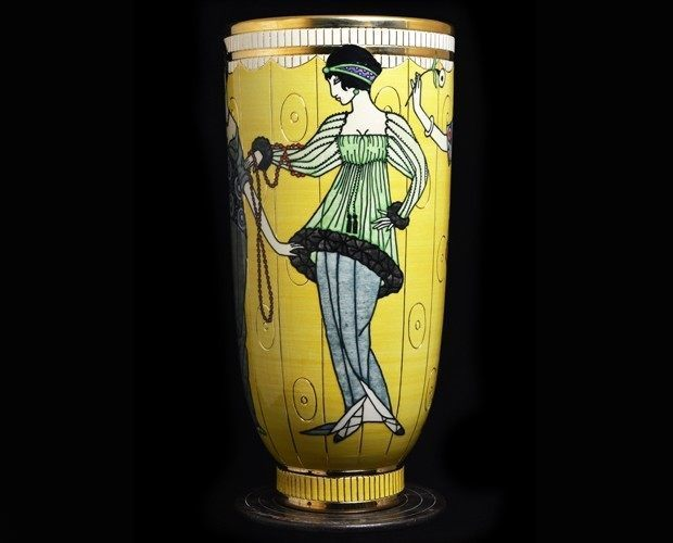 Yellow Poiret Vase